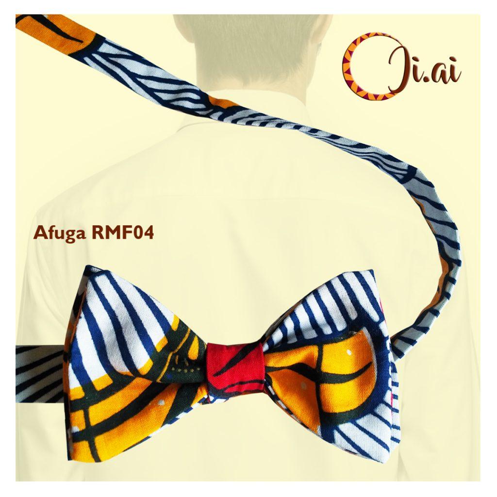 Kitenge Bow Ties by Ji-ai 04a Afuga RMF04
