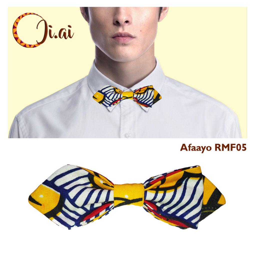 Kitenge Bow Ties by Ji-ai 05 Afaayo RMF05