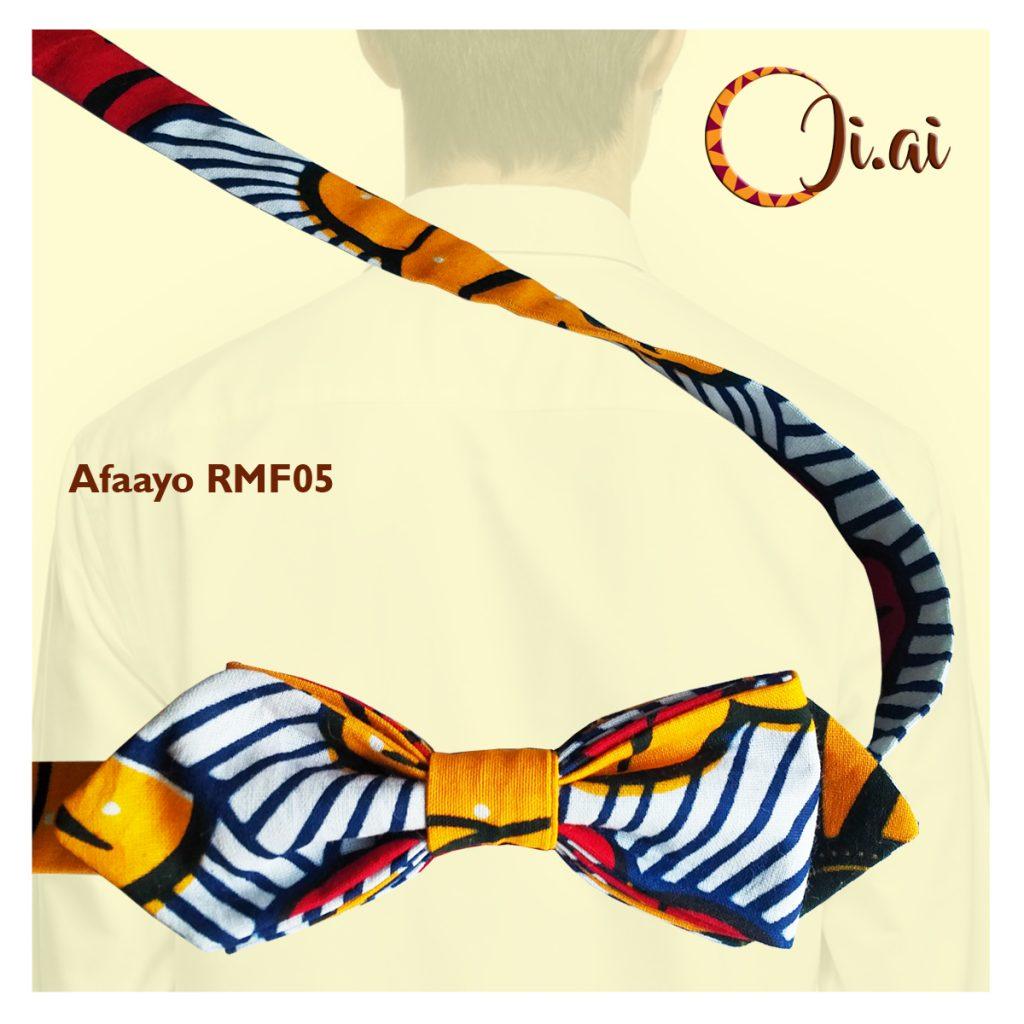 Kitenge Bow Ties by Ji-ai 05a Afaayo RMF05