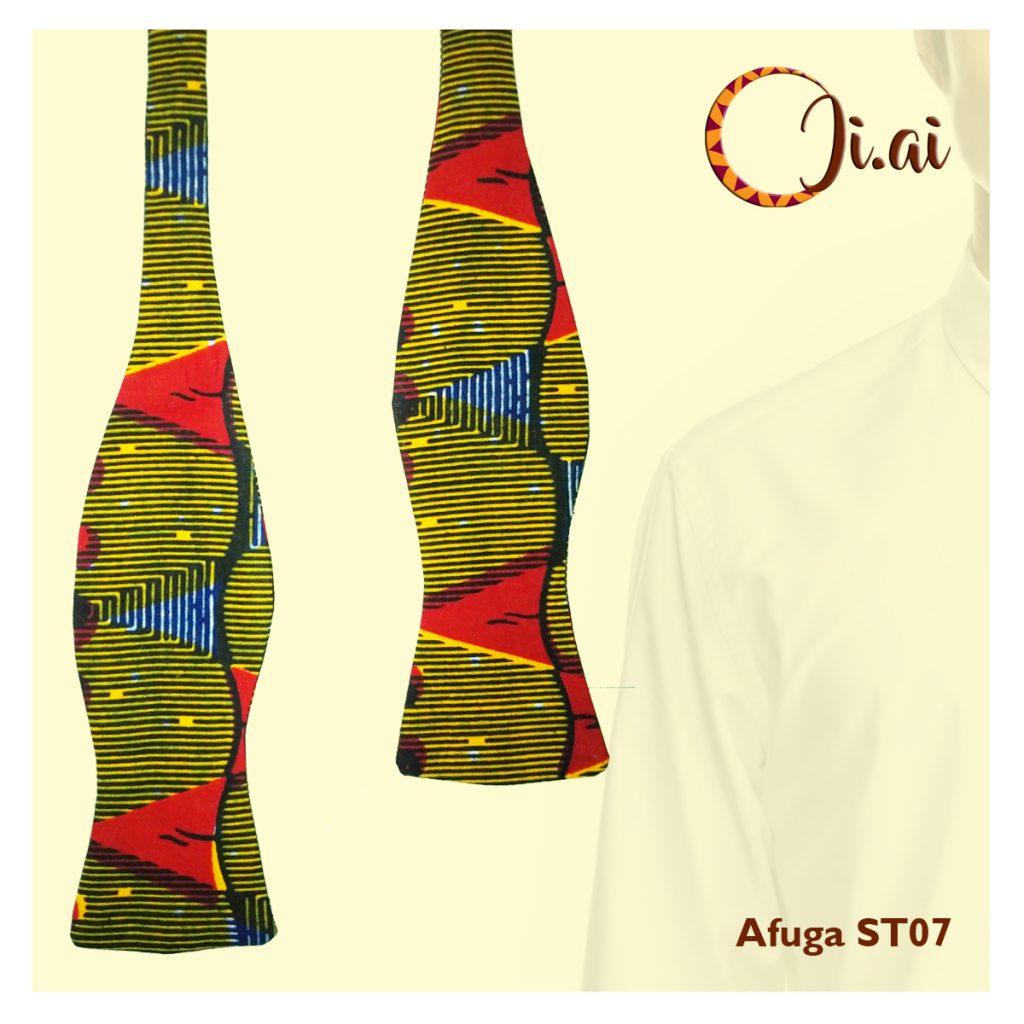 Kitenge Bow Ties by Ji-ai 07b Afuga ST07