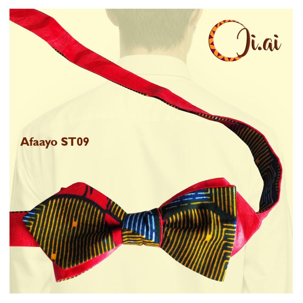 Kitenge Bow Ties by Ji-ai 09a Afaayo ST09