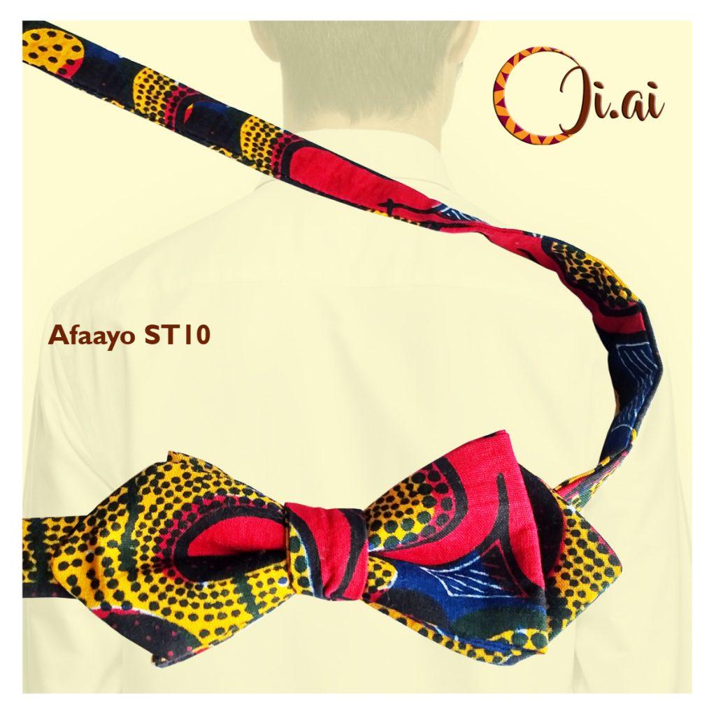 Kitenge Bow Ties by Ji-ai 10a Afaayo ST10
