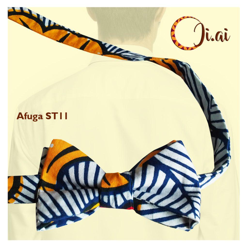 Kitenge Bow Ties by Ji-ai 11a Afuga ST11