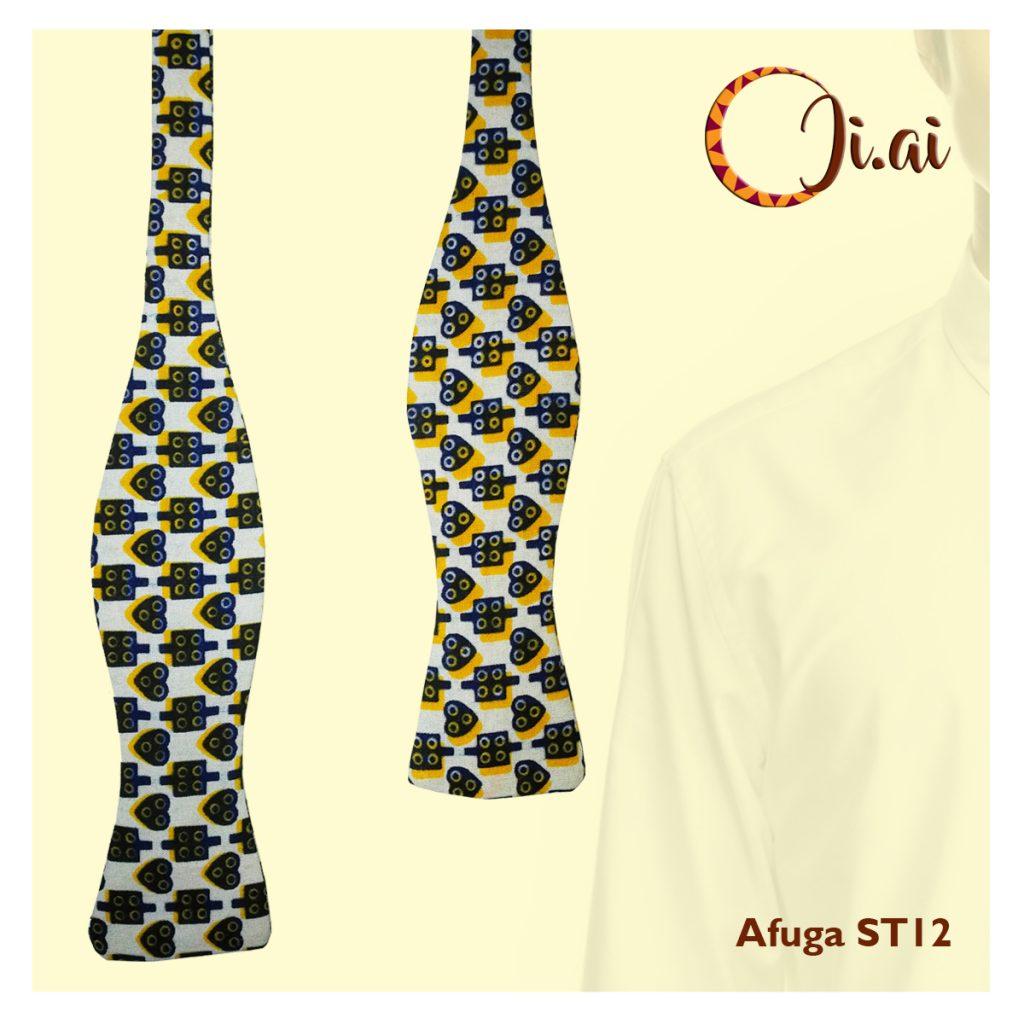 Kitenge Bow Ties by Ji-ai 12b Afuga ST12