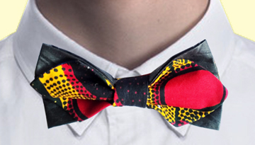 JBOP Ji-ai News Kitenge Bow Ties